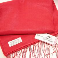 Red Special Occasion Wedding Pashmina